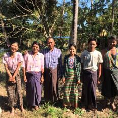 Zee Phyu Kone (C) Village Group