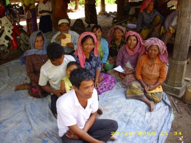 Mrs. Nub Sor Village Bank Group