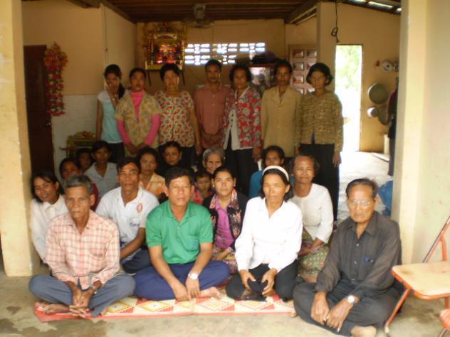 Mrs. Duch Thoeun Village Bank Group