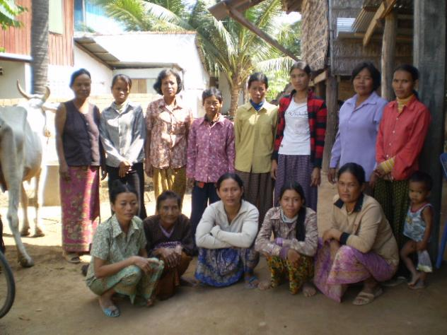 Mrs. Seakleng Hok Village Bank Group