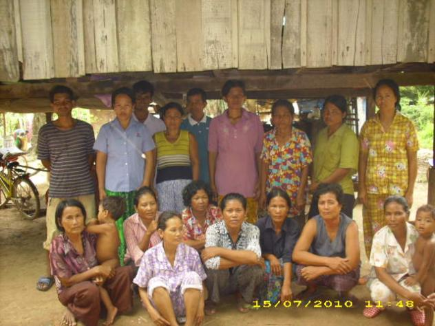 Mrs. Rith Kuoy Village Bank Group