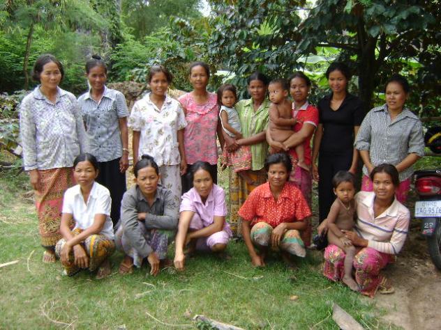 Mrs. Roatha Pom Village Bank Group