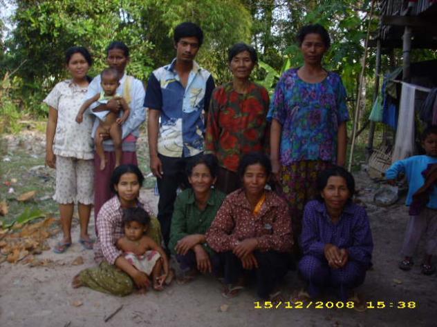 Mrs. Sine Keo Village Bank Group
