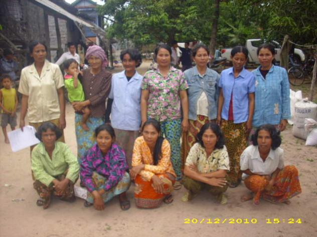 Mrs. Lay Sok Ny Village Bank Group