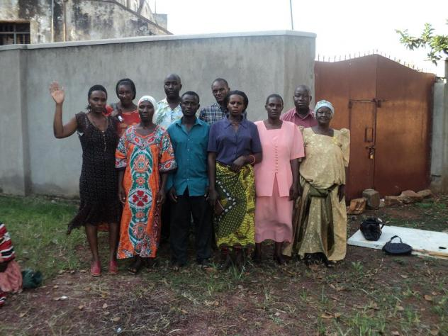 Clive Road Womens Group C-Jinja