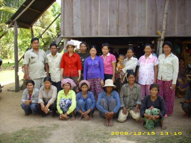 Mrs. Sok Len Phan Village Bank Group