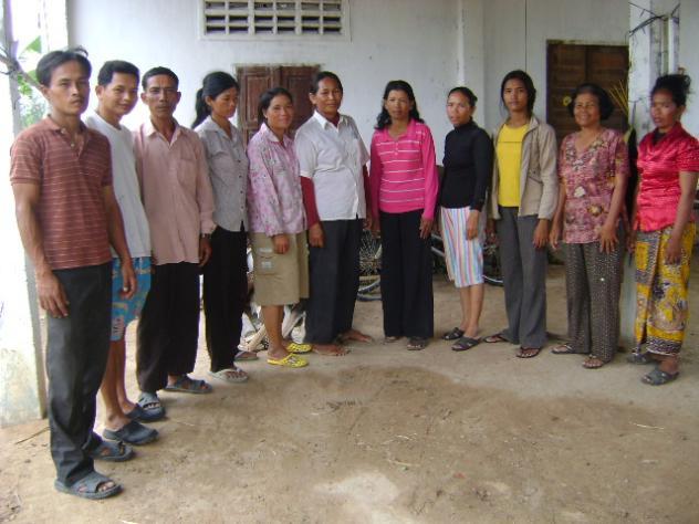 Mr. Pisith Village Bank Group