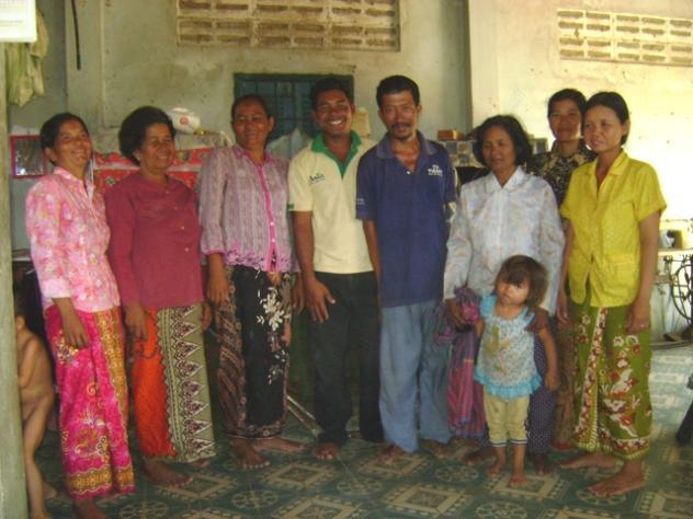 Mrs. Sophal Pang Village Bank Group