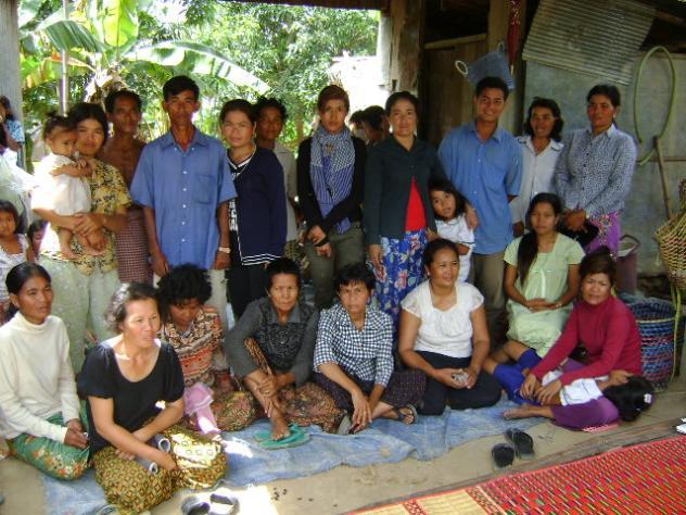 Mrs. Vandy Ly Village Bank Group