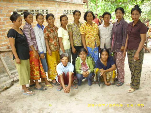 Mrs. Roatha Chhun Village Bank Group