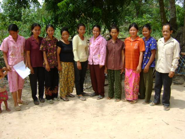 Mr. Kheam Kung Village Bank Group