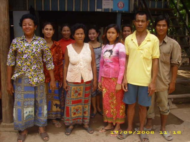 Mrs. Sok Sovannara Village Bank Group