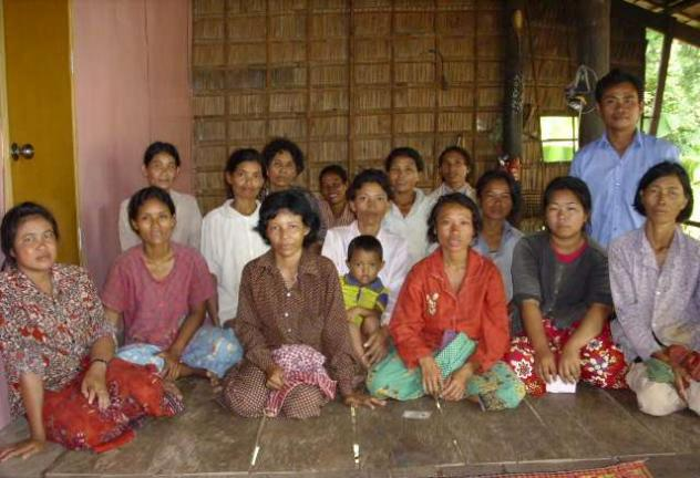 Mrs. Sokrey Choeun Village Bank Group