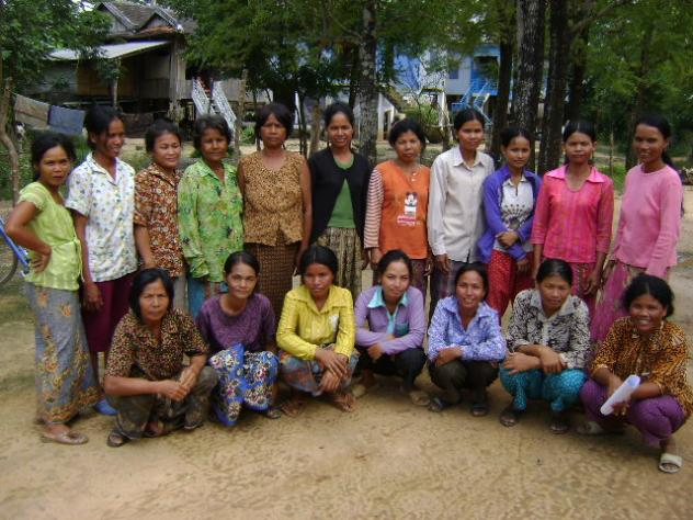 Mrs. Heng Chhom Village Bank Group