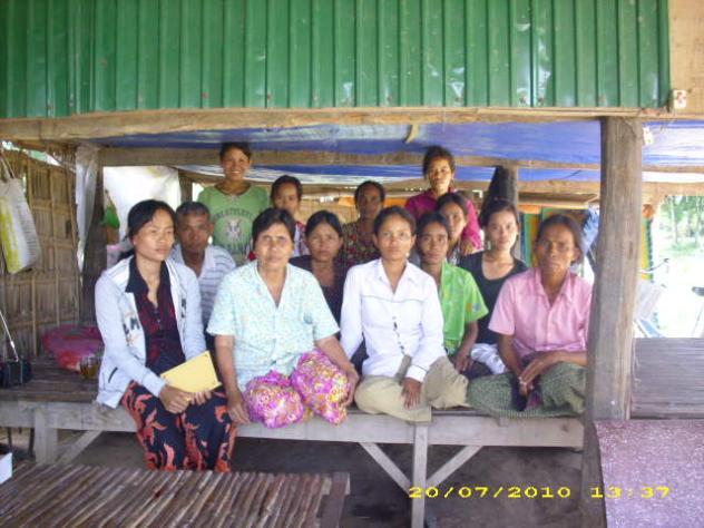 Mrs. Ken Sum Village Bank Group