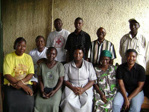 Red Cross Makeni Group