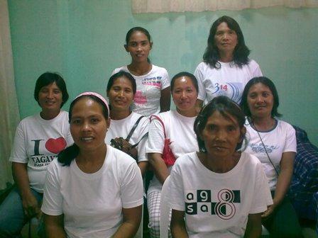 Luzviminda Catembung's Group