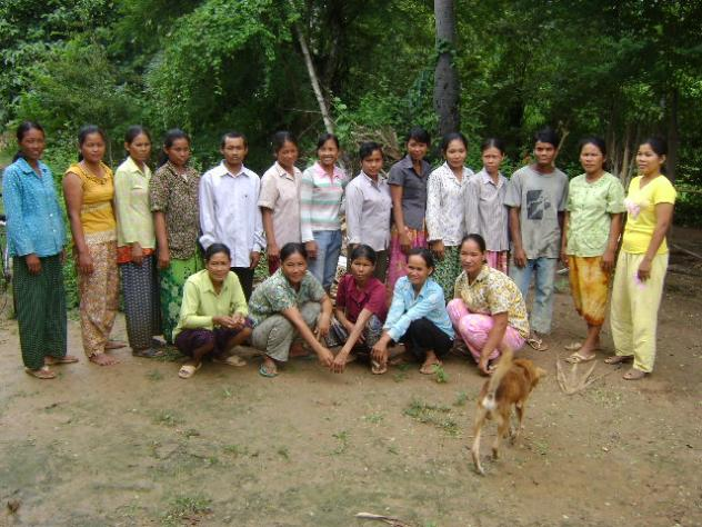Mrs. Samphors Maen Village Bank Group