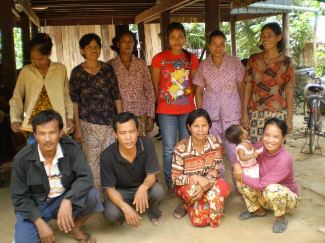 Mrs. Shiphat Chea  Village Bank Group