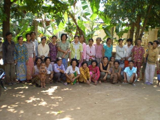 Mrs. Sok Ret Village Bank Group
