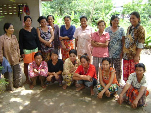 Mrs. Koeun Chea Village Bank Group