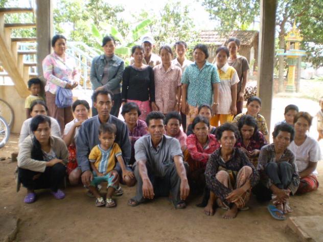 Mr. Sophal Uy's Village Bank Group