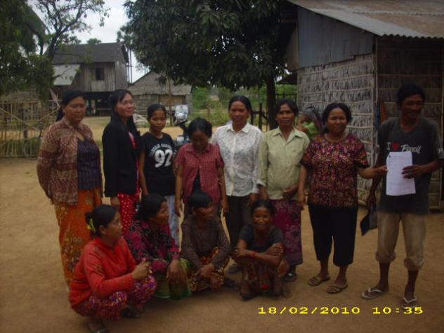 Mrs. Yoeurn Douk Village Bank Group