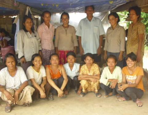 Mrs. Veth Torn Village Bank Group