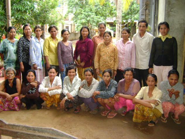 Mrs. Bunthy Sok Village Bank Group